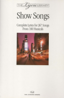 Lyric Library: Show Songs Book